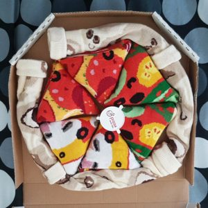 Pizza Socks Box - Mis calcetines