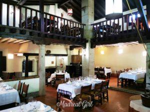 Restaurante Tejas Verdes - Interior