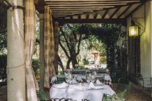Restaurante Tejas Verdes - Terraza